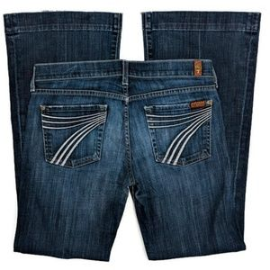 7 For All Mankind Dojo Jeans size 28x30